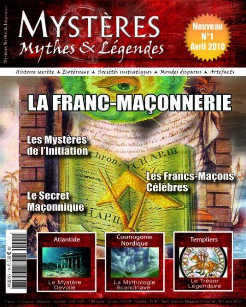 Un nouveau magazine dans les kiosques : Mystères, Mythes et Légendes ! couv1