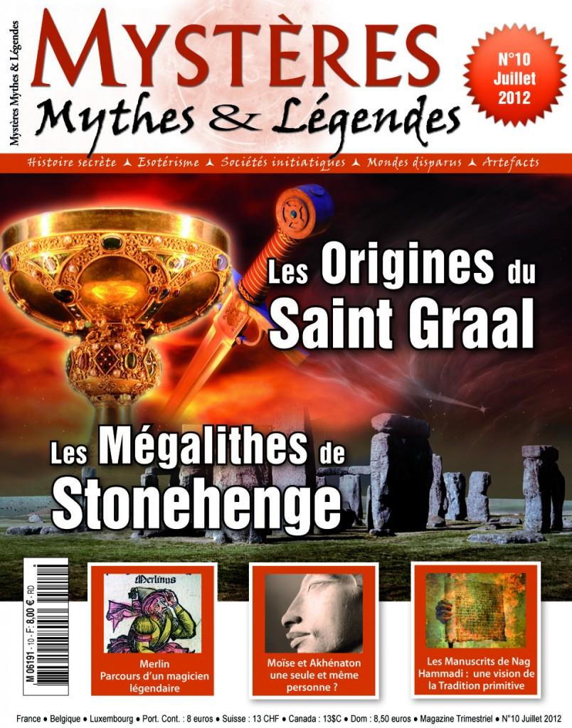 Mystères, Mythes & Légendes n°10 sort en juillet 2012 couv10-804x1024