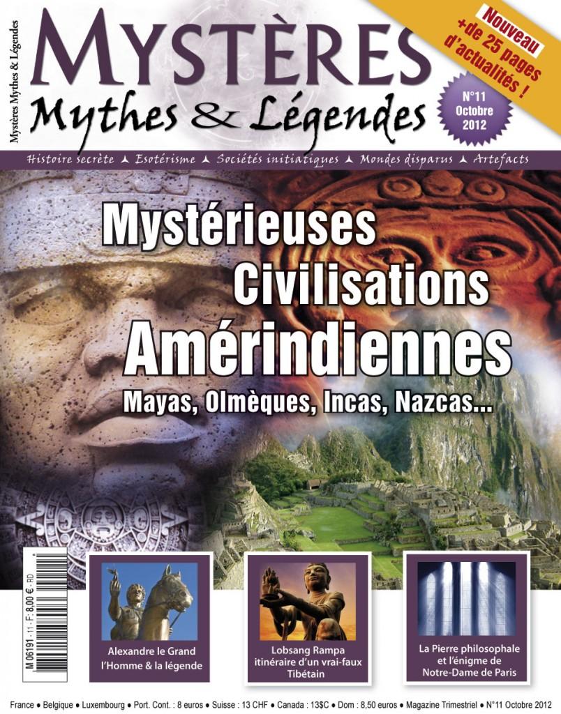 Mystères, Mythes & Légendes n°11 en kiosques le 1er octobre ! couv112-804x1024